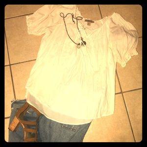 Lucky Brand White Blouse 💕
